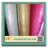 Wholesale Upholstery Fabric PU Leather Glitters