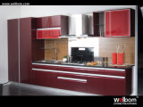 High Gloss Lacquer Kitchen Cabinetry