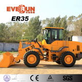 3 Ton Construction Machinery Wheel Loader with Adjustable Steering Wheel