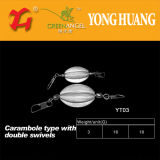 High Quality Fishing Tackle Carambola Type Lead Sink