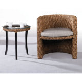 Interior Rattan Chair and Table