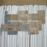 Natural Rustic Slate Mosaic Tile for Walling and Flooring