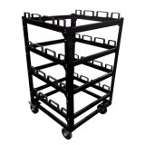 Multiple Stanchions Storage Cart
