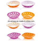 Two Color PS Candy Plates (SXJ1001)