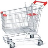 Galvanized Supermarket Cart for Supermarket