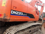 Used Doosan Dh220LC-7 Excavator with Clean Appearance, Used Doosan 200 Excavtor
