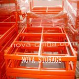 Medium Duty Push Back Racking Warehouse Storage