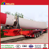 Low Bed Extendable Semi Trailer for Wind Blade Transport