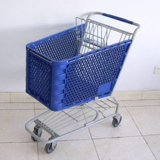 American Supermarket Plastic Shopping Cart