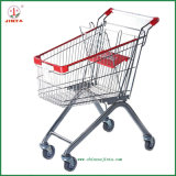 60L Asian Style Shopping Trolley for Supermarket Use (JT-E09)