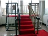 China Manufacturer of Powder Coating Steel Stair Railings