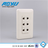 PC Material 3 Gang Module Type16A Outlet