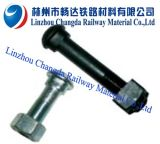 Railroad Fish Bolt With Nut and Washer for Fixing Fish Plate