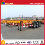 3 Axles Heavy Duty 40ft Container Chassis Semi Trailer