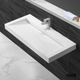 Artificial Stonesolid Surface Wall Mounted Bathroom Basin