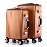 Rumowa Aluminum Alloy Travel Trolley, Aluminum Case (109)