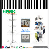 4 Tier Commercial Retail Rotating Wire Stand