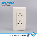 2*4 Type 6 Hole Standard Grounding Double 20A Socket