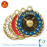 Custom 3D Effect Logo Zinc Alloy Die Cast Medal