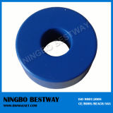 Blue Plated Nickel Plated Ring Magnet