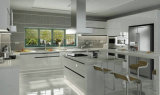 Pure White MDF Lacquer Kitchen Cabinet