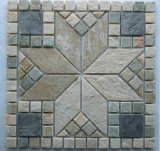 Mosaic Slate, Slate Flagstone Slate on Mesh for Outdoor, Natural Slate Wall Panel/Cultured Stone/Ledgestone