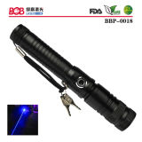 1000mw Blue Laser Torch with Safe Key (BBP-0018)