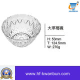 Stocked Clear Glass Bowl with Good Price Glassware Kb-Hn0155