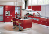 High Glossy/Matt Lacquer/Painted Finish MDF Lacquer Kitchen Cabinet Bel03-07