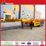 Containers Transportation Tri-Axle Skeletal Trailer