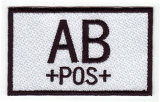 AB+POS+ Embroidery Label or Patch