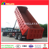 2 Axles 20-45tons End Dump Tipping Dump Tipper Trailer