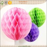Christmas Decoration Hanging Tissue Paper Honeycomb Ball