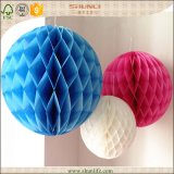 Wedding Party Favors Round Tissue Paper Honeycomb Balls