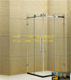 Frameless Square Shower Room with Oval Tube (Y3324)