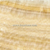 Yellow Onxy Agglomerated Marble for Floor Decoration