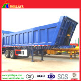 2 Axle End Tractor Hydraulic Tipping Dump Semi Trailer