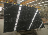 Black Flower Marble Slab Natural Stone Product