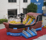 Inflatable Jumping Slide Pirate Ship Slide Chsl234