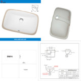 North American Upc Approved Bathroom Sinks (SN014)
