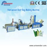 Uw-F500 Newest Product China Non-Woven Fabrics Vest Bag Making Machine