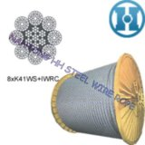 Compacted Strand Wire Rope of Marine Engineering Rope 8xk41ws+Iwrc