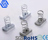 Steel, Stainless Steel, Spring Nut M 4- M20