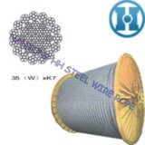 Wire Rope for Rotaty Driling Rig 35 (W) Xk7