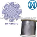 Point Line Contacted Steel Wire Rope (8X84WSNS+FC)