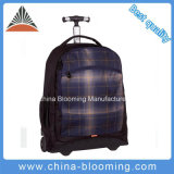 Polyester Backpack Outdoor Travel Sports Computer Notebook Trolley Rolling Bag