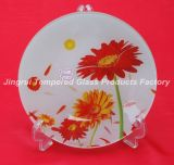 Heat Resistant Glass Plate Used for Microwave Oven Dishwasher