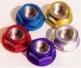Custom High Precision Aluminum 6061 / 7075 Hex Nut