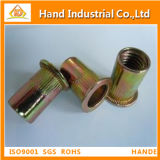 Stainless Steel Countersunk Head Round Body Open End Rivet Nut