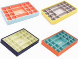 Colorful Painting Wooden Jewelry Display Trays